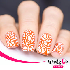 Whats Up Nails - Citrus Stencils