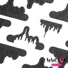 Whats Up Nails - City Stencils