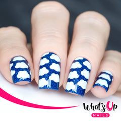 Whats Up Nails - Clouds Stencils