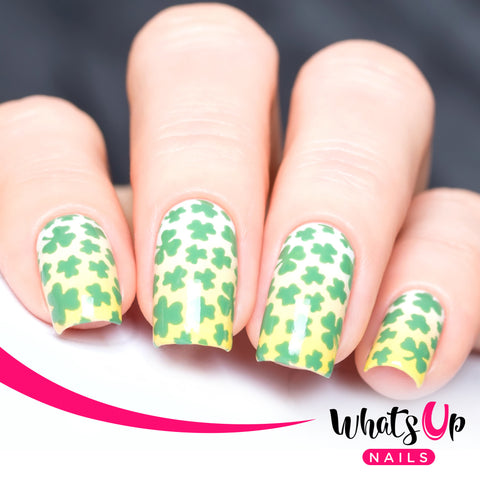 Whats Up Nails - Clover Field Stencils
