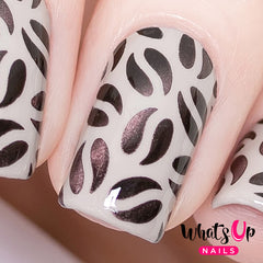 Whats Up Nails - Coffee Stencils