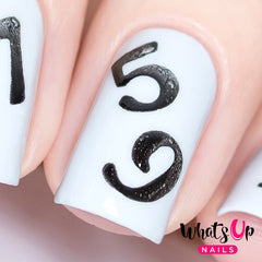 Whats Up Nails - Counting Stencils