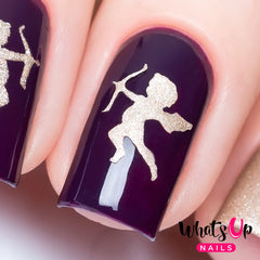 Whats Up Nails - Cupid Stencils