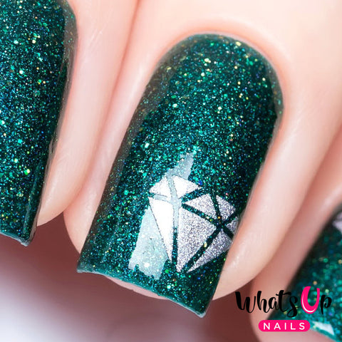 Whats Up Nails - Diamond Gemstone Stencils