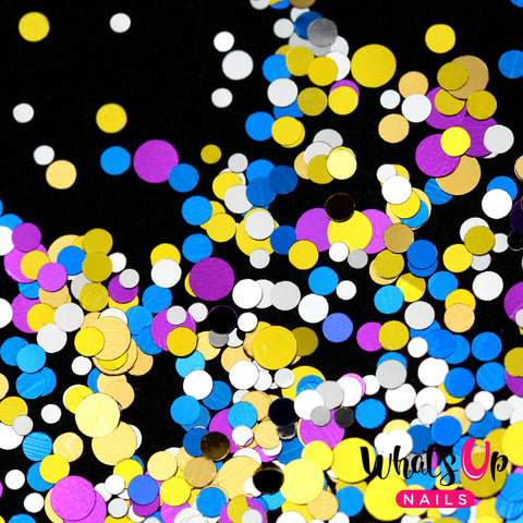 Whats Up Nails - Disco Confetti