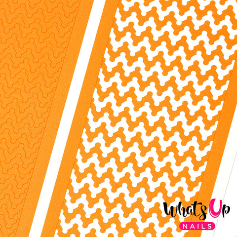 Whats Up Nails - Dot Zig Zag Tape