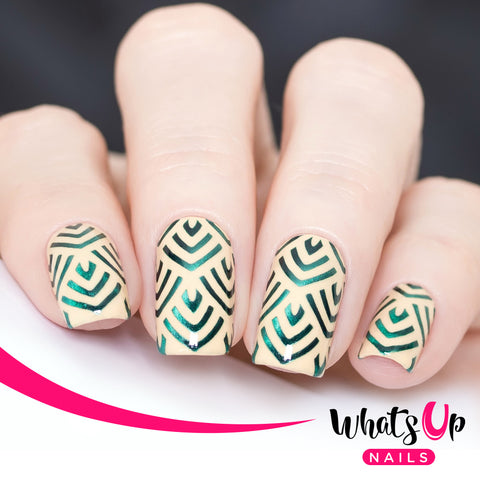 Whats Up Nails - Dragon Scales Stencils