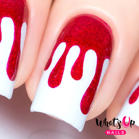 Whats Up Nails - Dripping Stencils