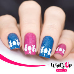 Whats Up Nails - Easter Stencils