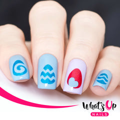 Whats Up Nails - Egg Hunt Stencils
