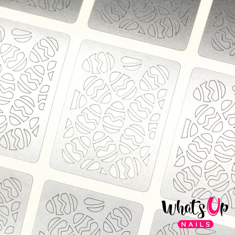 Whats Up Nails - Eggs Stencils
