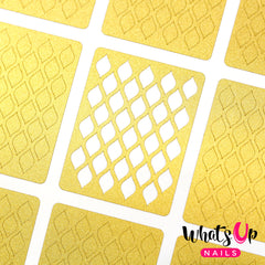 Whats Up Nails - Fishnet Stencils