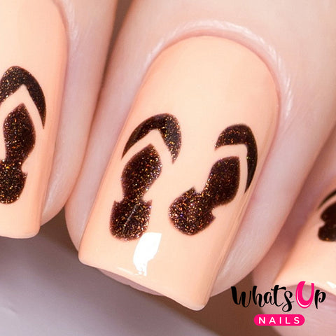 Whats Up Nails - Flip Flops Stencils