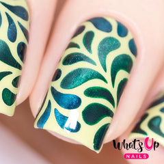 Whats Up Nails - Floral Splash Stencils