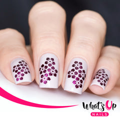 Whats Up Nails - Florets Stencils