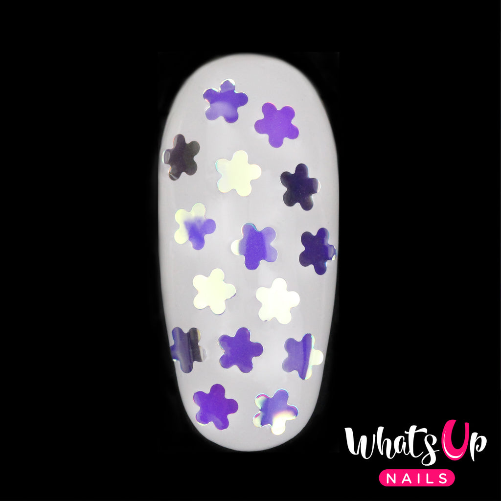 Whats Up Nails - Flower Glitter