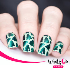 Whats Up Nails - Forest Stencils
