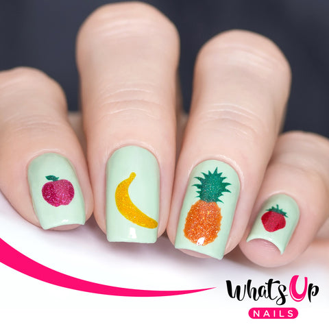 Whats Up Nails - Fruits Stencils