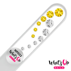 Whats Up Nails - Glass Nail File Comet Light Topaz