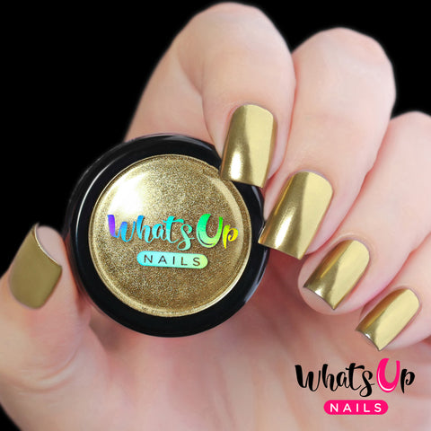 Whats Up Nails - Gold Chrome Powder | Whats Up Nails