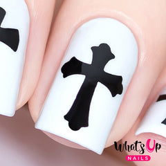 Whats Up Nails - Gothic Stencils