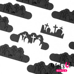 Whats Up Nails - Graveyard Stencils
