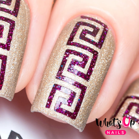 Whats Up Nails - Greek Stencils