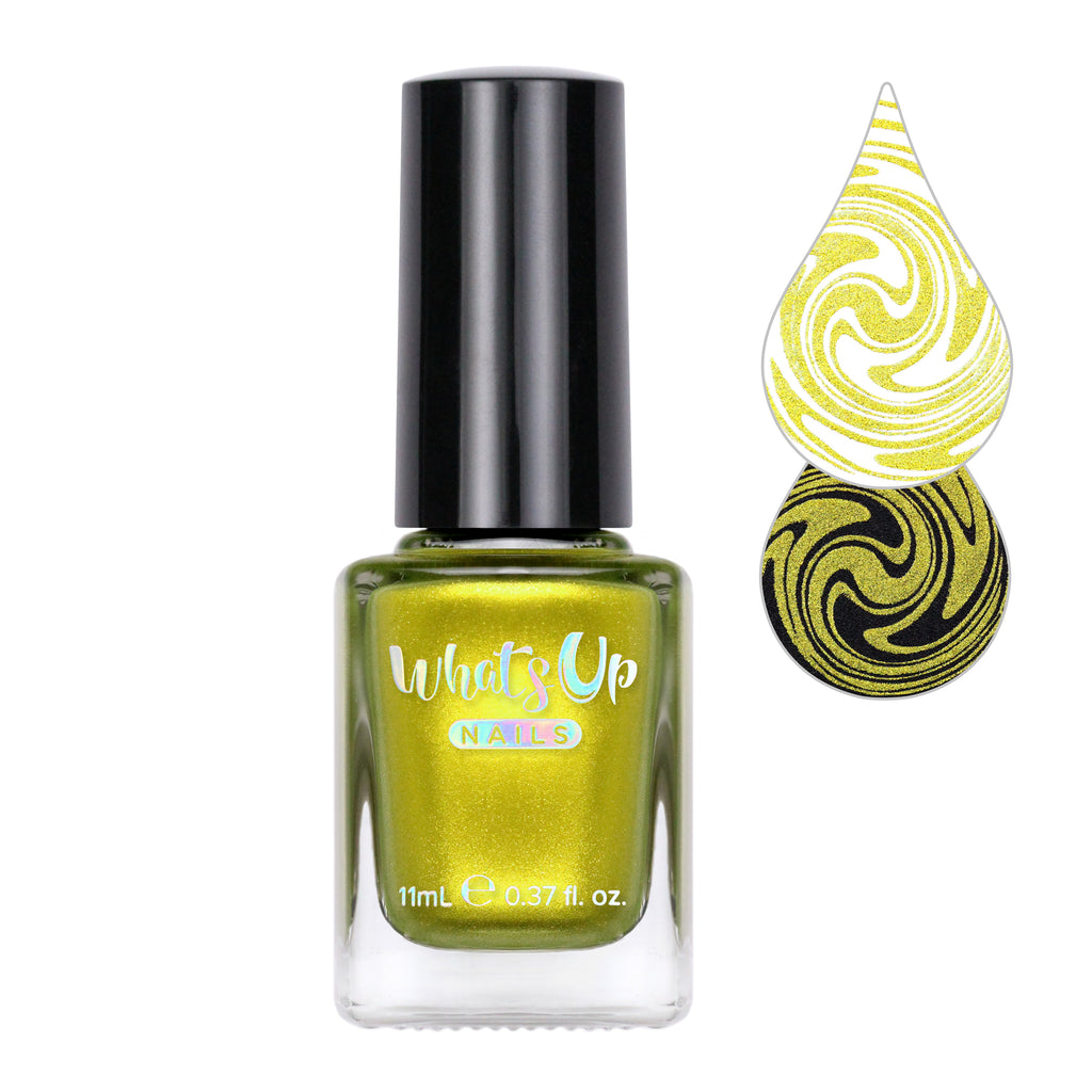 Whats Up Nails - Greenback Miner Stamping Polish