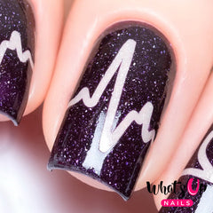 Whats Up Nails - Heartbeat Stencils