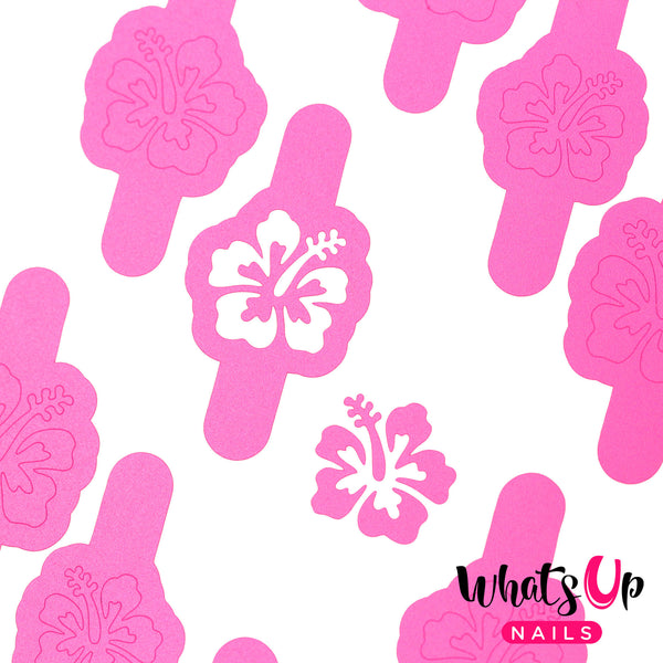 Whats Up Nails - Hibiscus Stencils