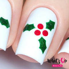 Whats Up Nails - Holly Stencils