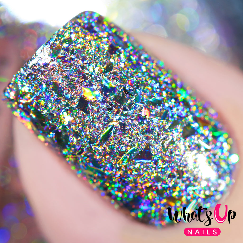 Whats Up Nails - Holographic Flakies