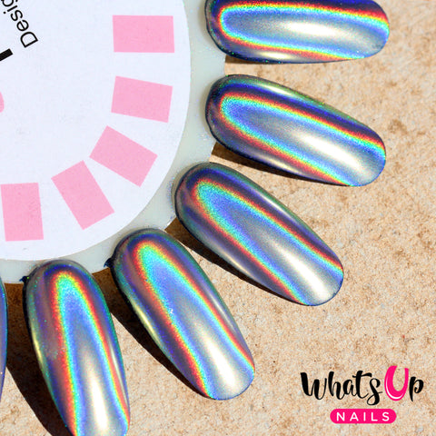 holographic nail powder