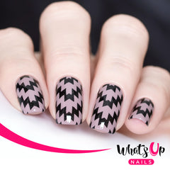 Whats Up Nails - Incan Stencils