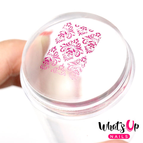 Jumbo Clear Jelly Stamper & Scraper (Transparent with Cap)