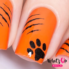 Whats Up Nails - Kitty Scratch Stencils