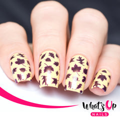 Whats Up Nails - Leaves Stencils