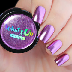 Whats Up Nails - Lilac Chrome Powder