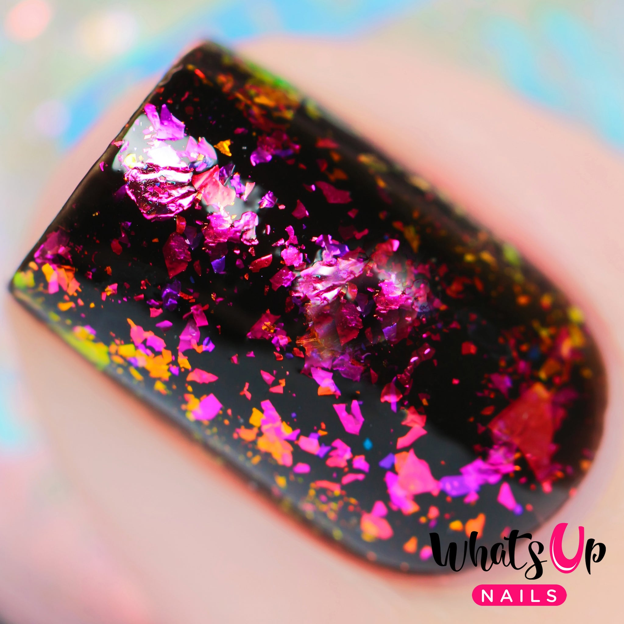 Whats Up Nails - Lipstick Flakies | Whats Up Nails