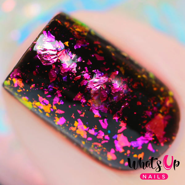 Whats Up Nails - Lipstick Flakies