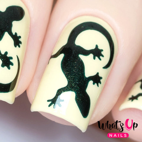 Whats Up Nails - Lizard Stencils