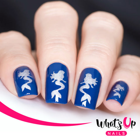 Whats Up Nails - Mermaid Stencils