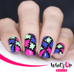 Whats Up Nails - Monster Blanket Stencils