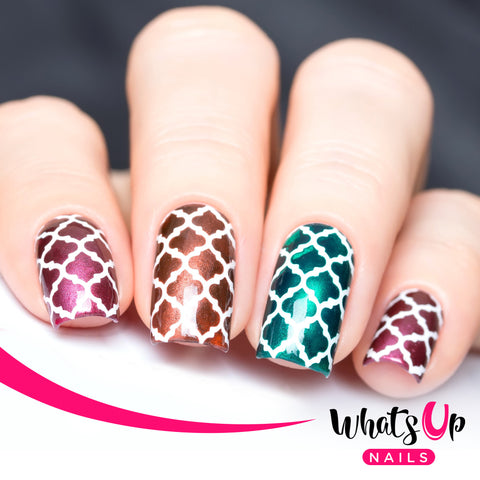 Whats Up Nails - Moroccan Stencils