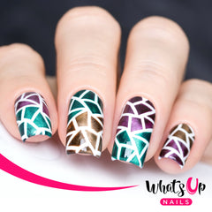 Whats Up Nails - Mosaic Stencils