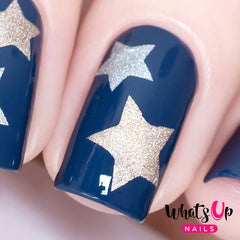 Whats Up Nails - Northern Star Stencils