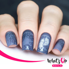 Whats Up Nails - P020 Light as a Feather Water Decals