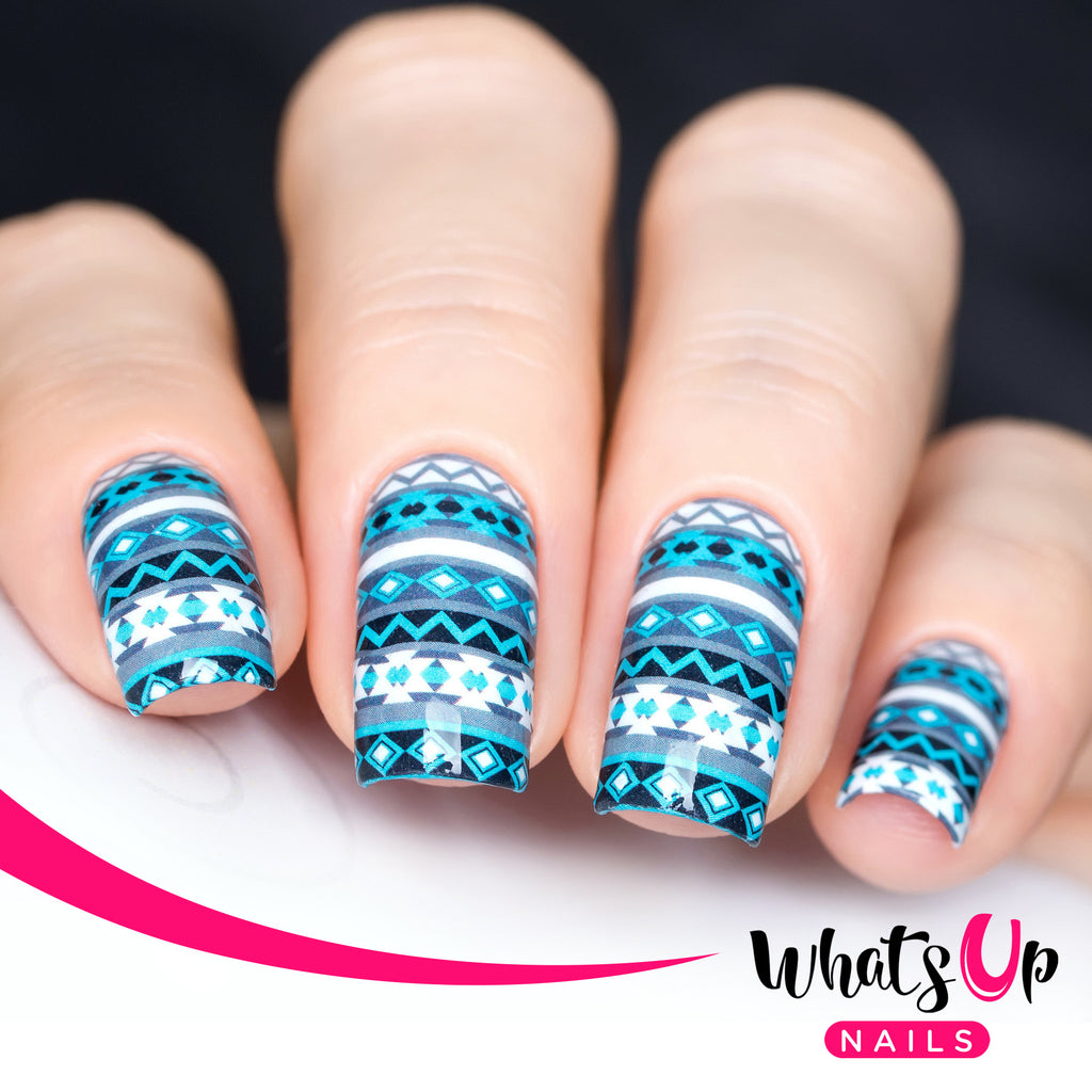 Whats Up Nails - P023 Aztec Harmony Water Decals