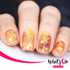 Whats Up Nails - P024 All About the Beez Water Decals