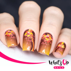 Whats Up Nails - P031 Holly Frenzy Water Decals